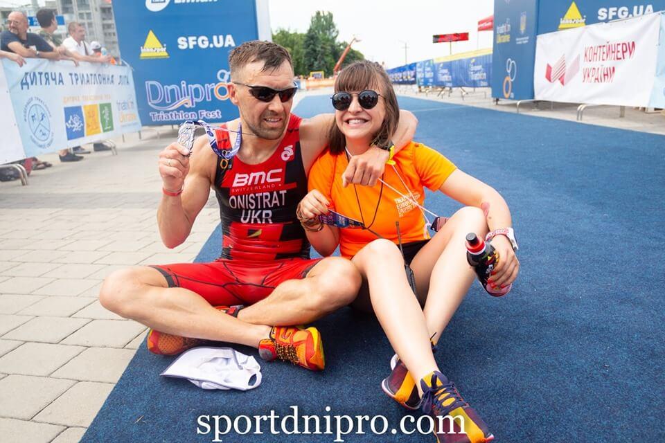 Поездка маленьких одесских триатлонистов в Днепр