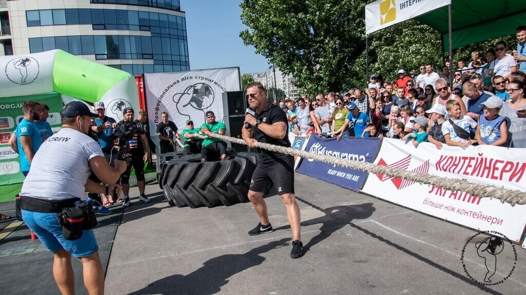 Силовые рекорды ко Дню молодёжи в Хмельницком